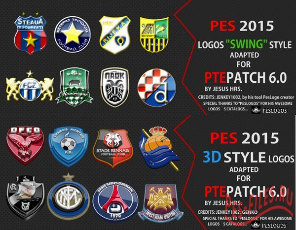 Logos Packs for PTEPatch 6.0