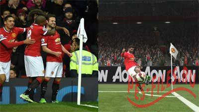 PES 2015 Manchester United HD Corner Flag