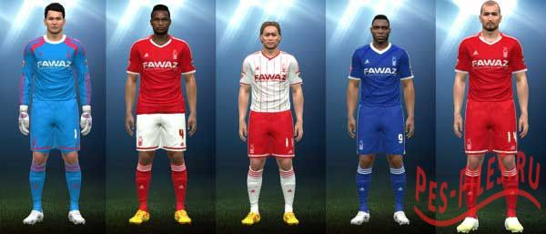 PES 2015 Nottingham Forest 14-15 Season Kits