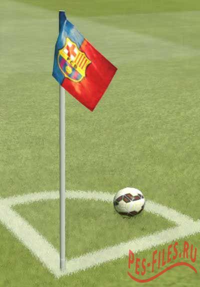 Barcelona Hd Corner Flag V.2 F...