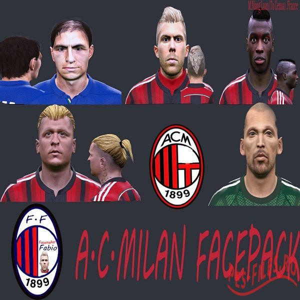 AC Milan FacesPack