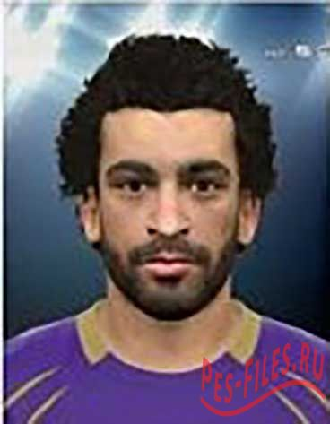PES 2015 Mohamed Salah Face HD