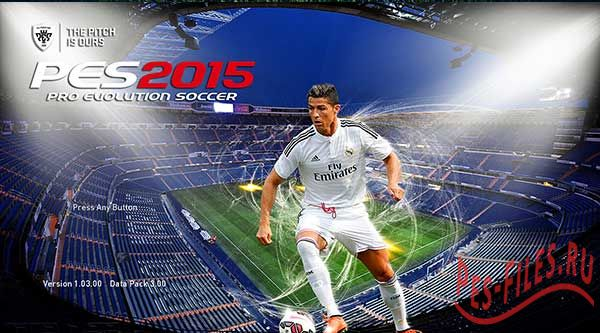Real Madrid Start & Title Screens