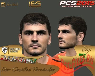 Лицо игрока Iker Casillas