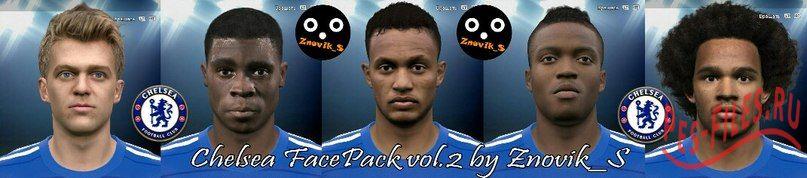 Chelsea FacePack vol.2
