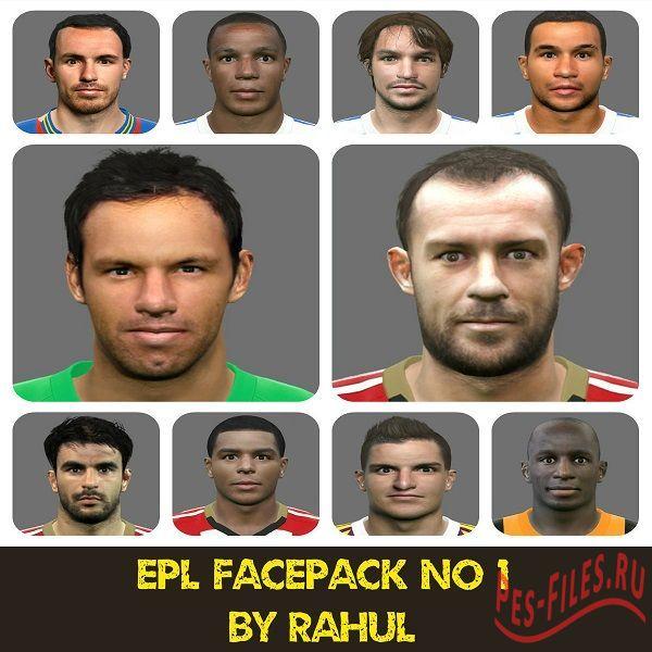 EPL Facepack № 1