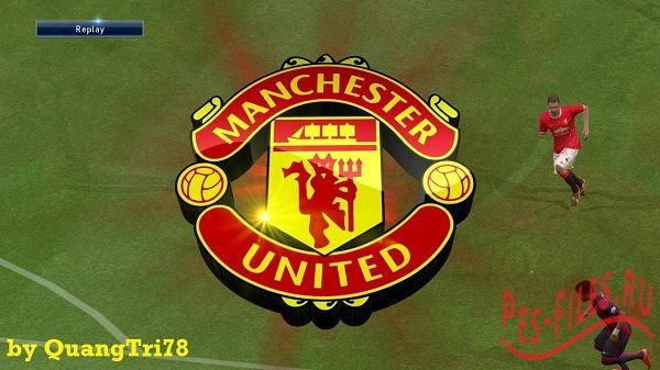 Manchester United 3D Replay Logo