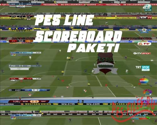 PES 2015 Scoreboards Pack
