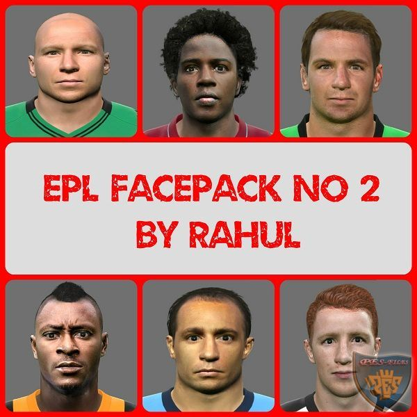 Pes 2015 EPL facepack no 2