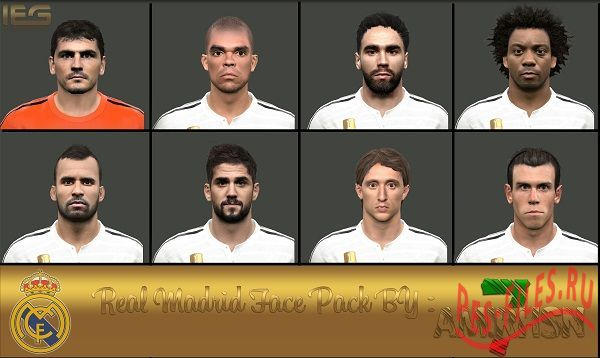 Real Madrid Face Pack
