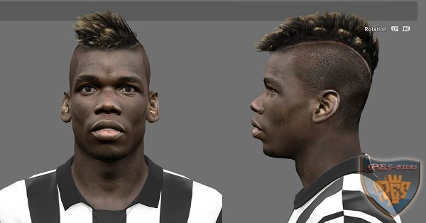Paul Pogba Face