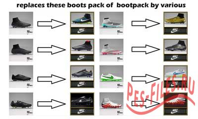 PES 2015 Nike Pack Boots