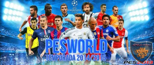 PES 2013 PESWORLD 2.0 Patch Season 2014/15