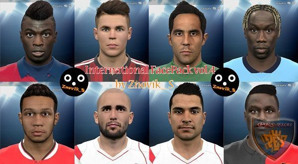 PES 2015 International FacePack vol. 4