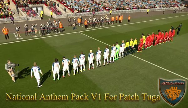National Anthem Pack V1 For Patch Tuga Vicio