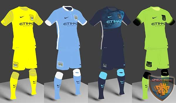 Manchester City 2015/2016 Leaked Kits