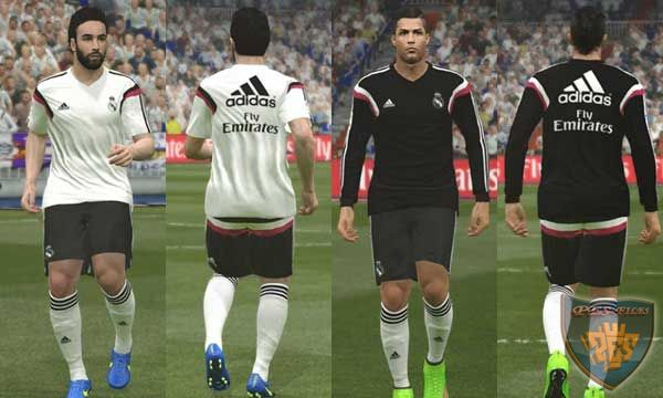 Real Madrid 14/15 Training Kits pack