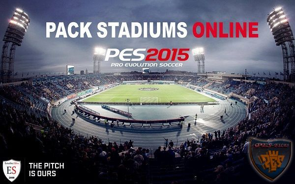 Pack Stadiums Online PES 2015