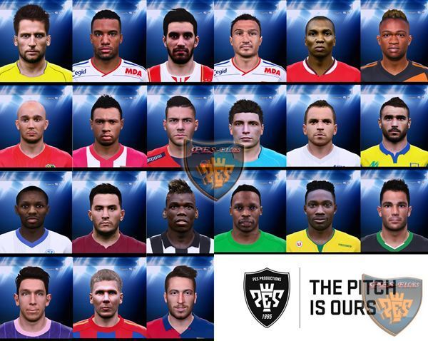 PES 2015 Faces Update for All Patch 1.0