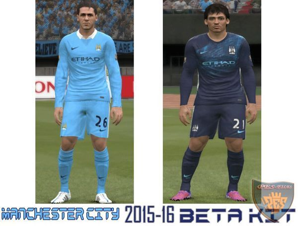 Kits Manchester City 2015/16