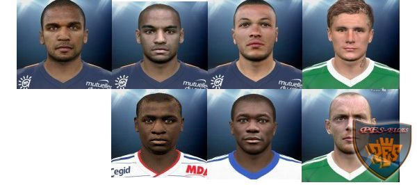 France Ligue 1 Face Pack