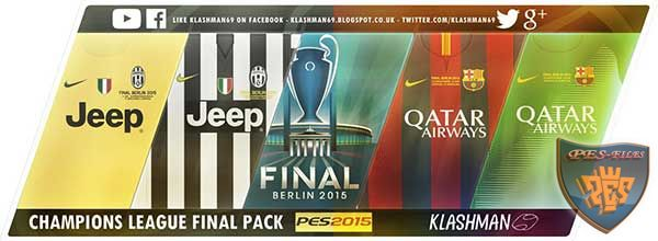 Champions League Final Kit Pack 2015