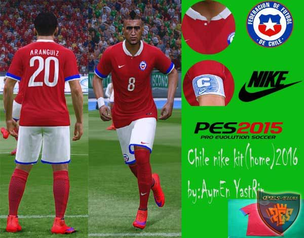 Chile Nike Home Kit 2016