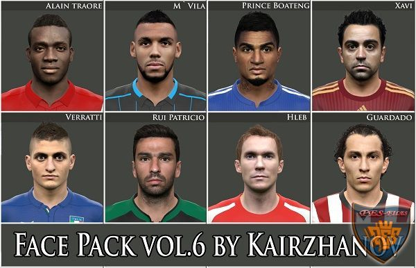 Face Pack vol.6