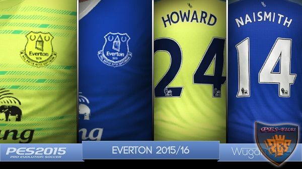 Everton New Kits 2015/16