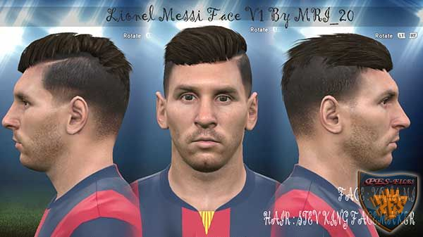 Messi Face 2015