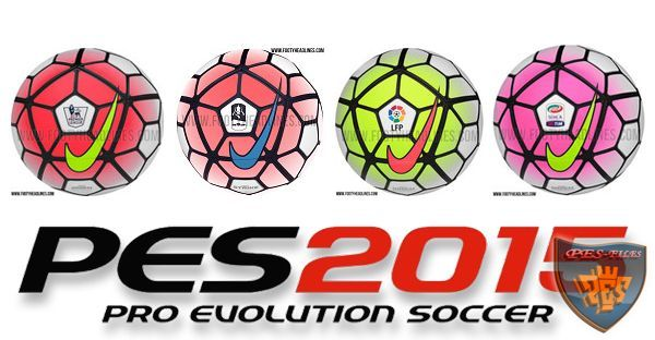 Pes 2015 New Ballpack V2 Season 2015/16