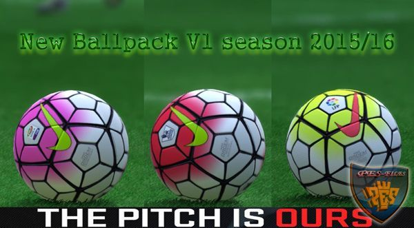 New Ballpack V1 season 2015/16