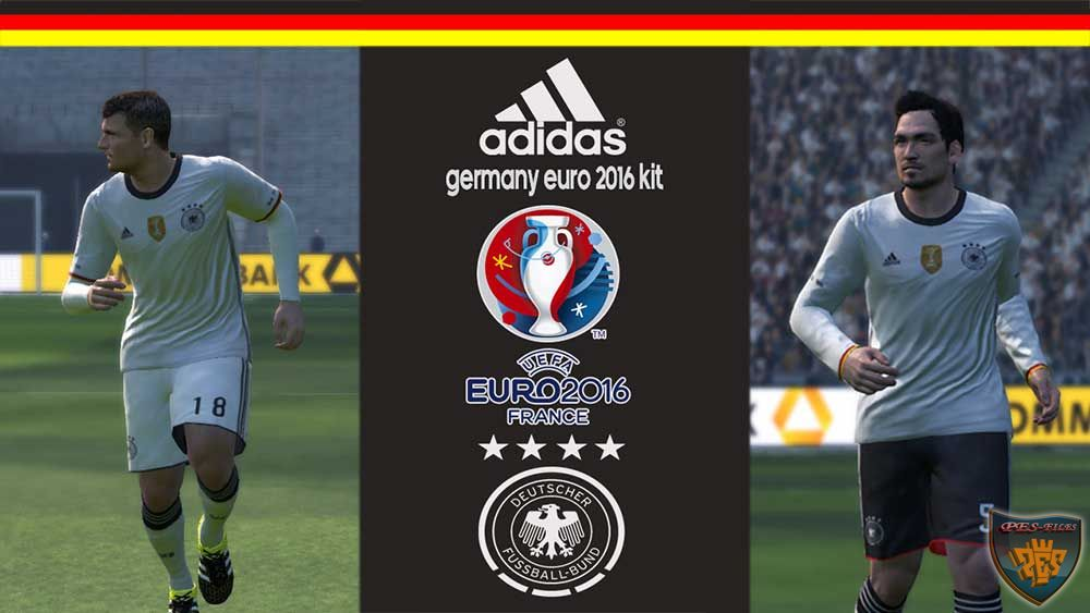 Germany Euro 2016 Kit 2015-2016