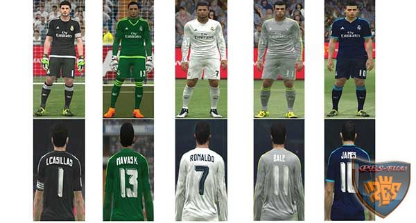 Real Madrid kit New Update 2015