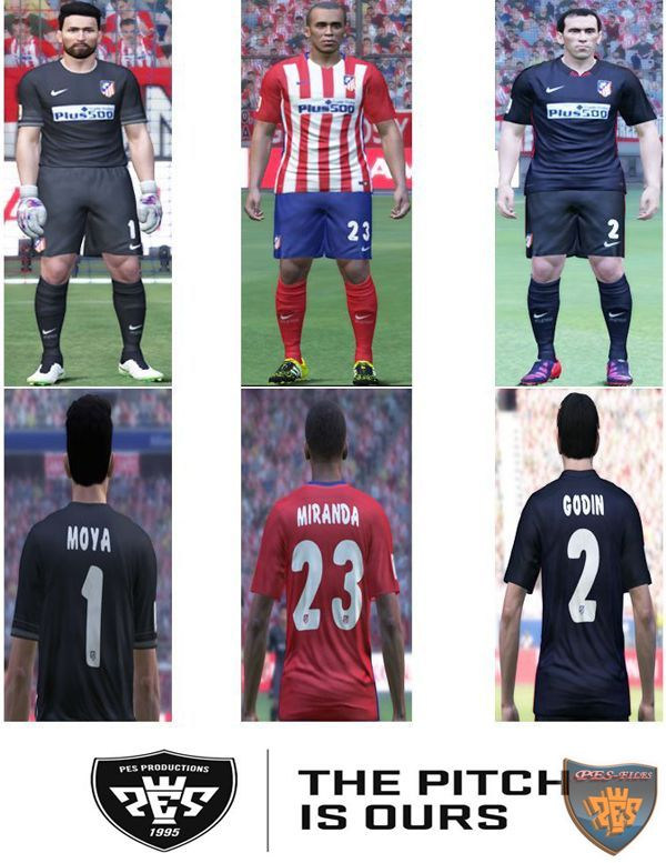 Atletico Madrid 2015/16 Kit