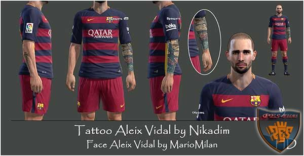 Tattoo Aleix Vidal by Nikadim