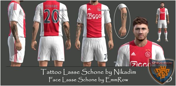 Tattoo Lasse Schone by Nikadim