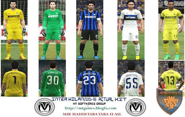 Inter Milan 2015-16 Update