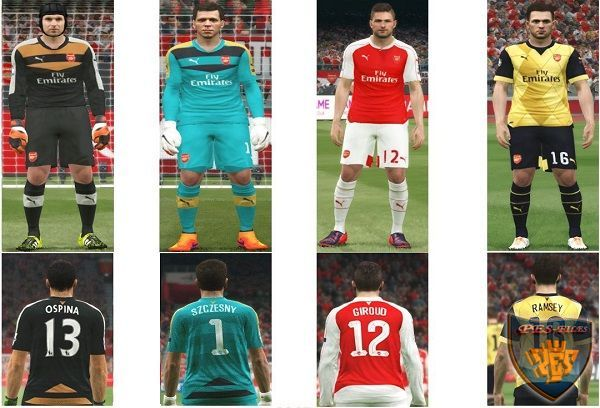 Arsenal FC 2015-16 New Update 2015