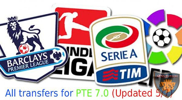 PES 2015 Transfers For PTE Patch 7.0 (Updated 05/07)
