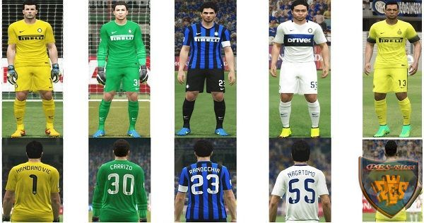 Actual Kit Inter Milan 2015/16 Update