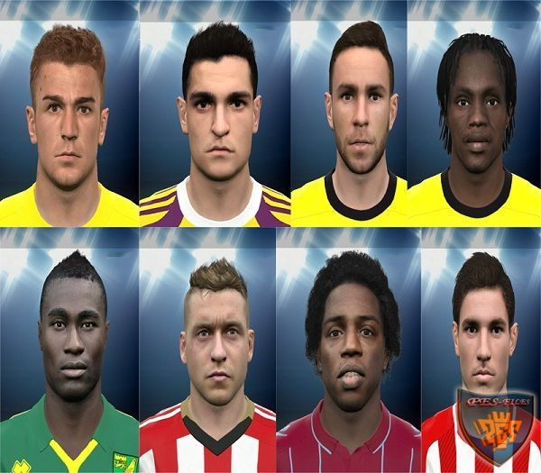 Face EPL Pack PES 2015