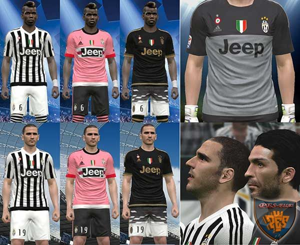 Juventus 2015/16 Kits by IDK