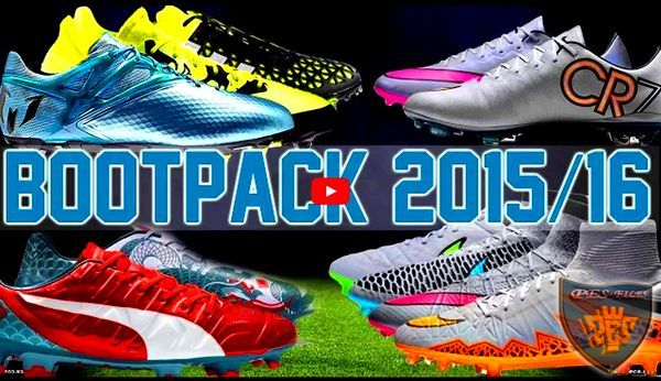 Pes 2013 Exclusive Bootpack v1.01 Season 2015/16