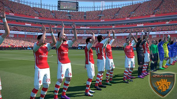 Emirates Stadium PES 2015