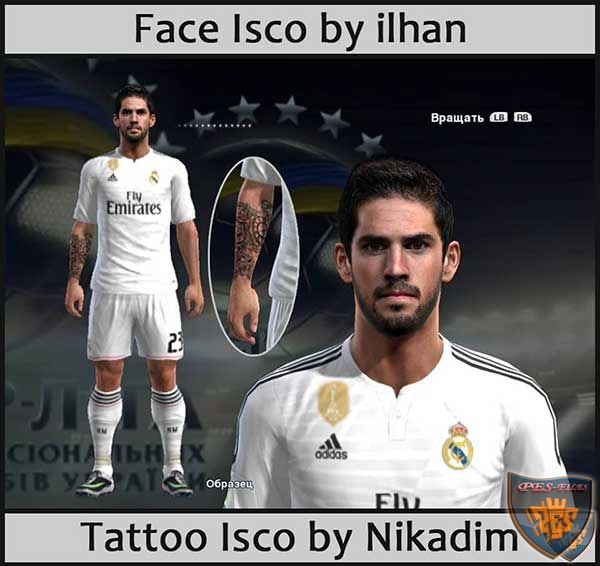 Tattoo Isco by Nikadim