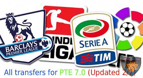PES 2015 Transfers For PTE Patch 7.0