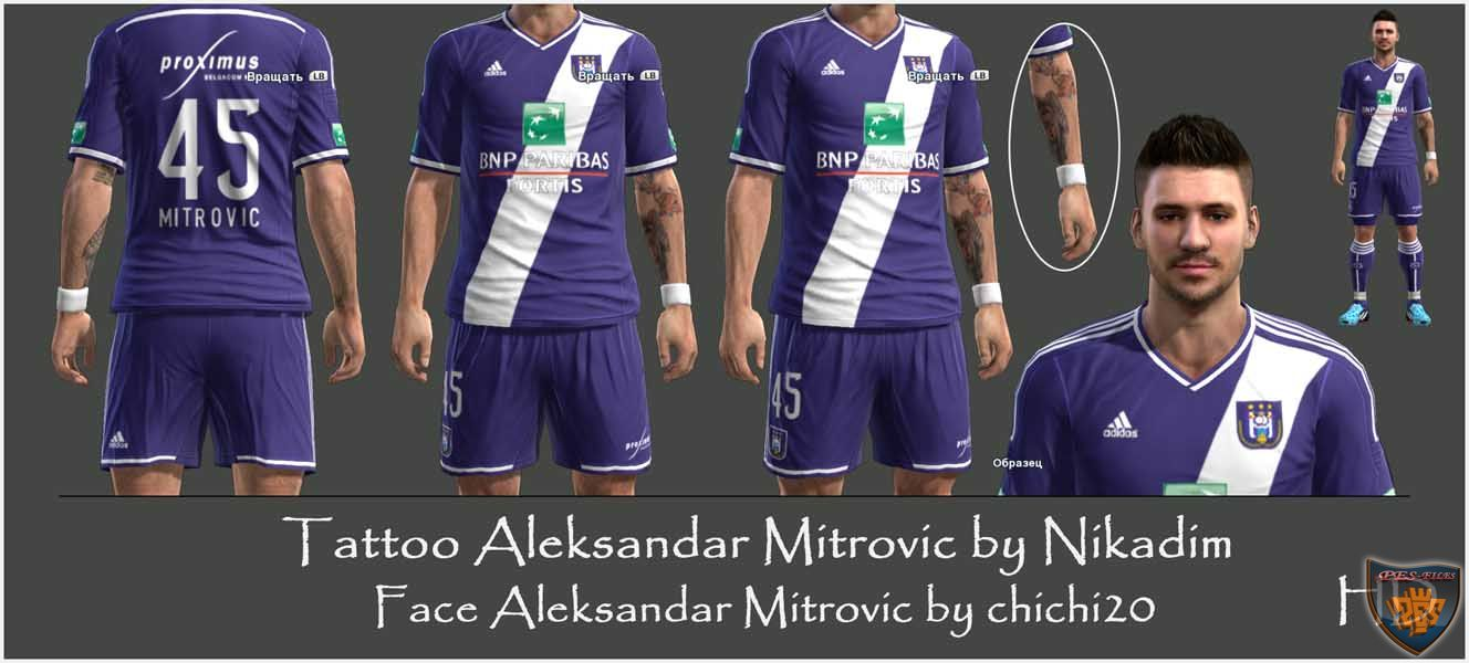 Tattoo Aleksandar Mitrovic by Nikadim