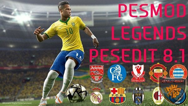 Pes 2013 Pesedit 8.1 Patch 2016 All New