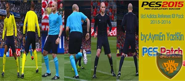 UCL Adidas Referees KitPack 2016 V1.0 - формы рефери